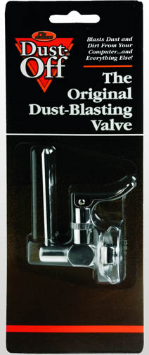 DUST-OFF Chrome Replacement Valve