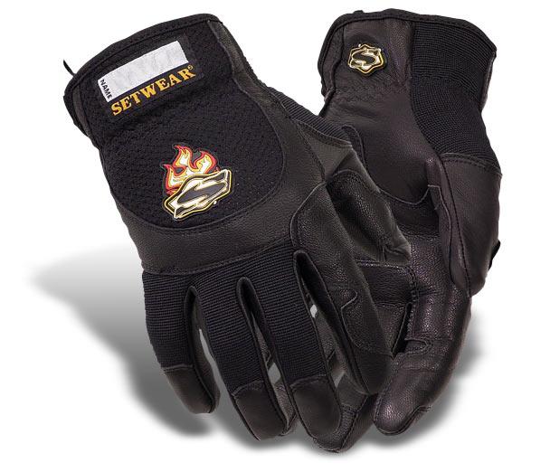 SetWear Pro Leather Gloves - Small
